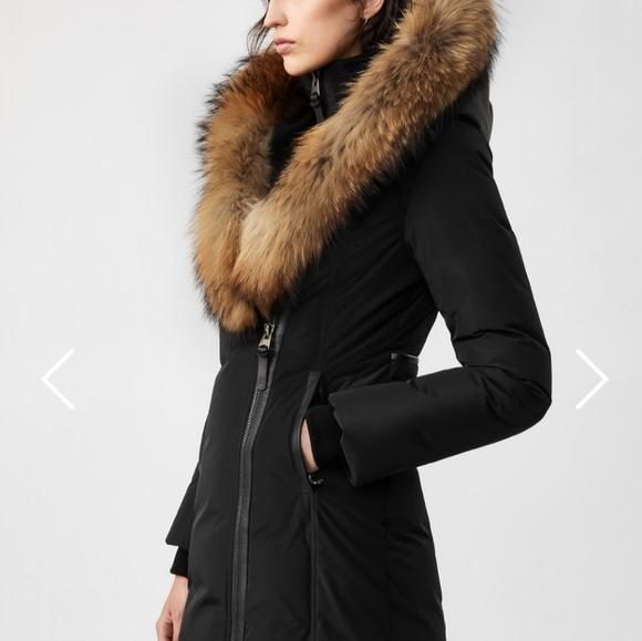 Mackage Kay Down Coat with Natural Fur